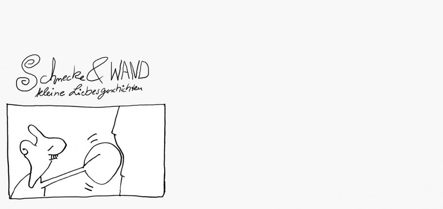 Schnecke und Wand Cartoon Teil 17