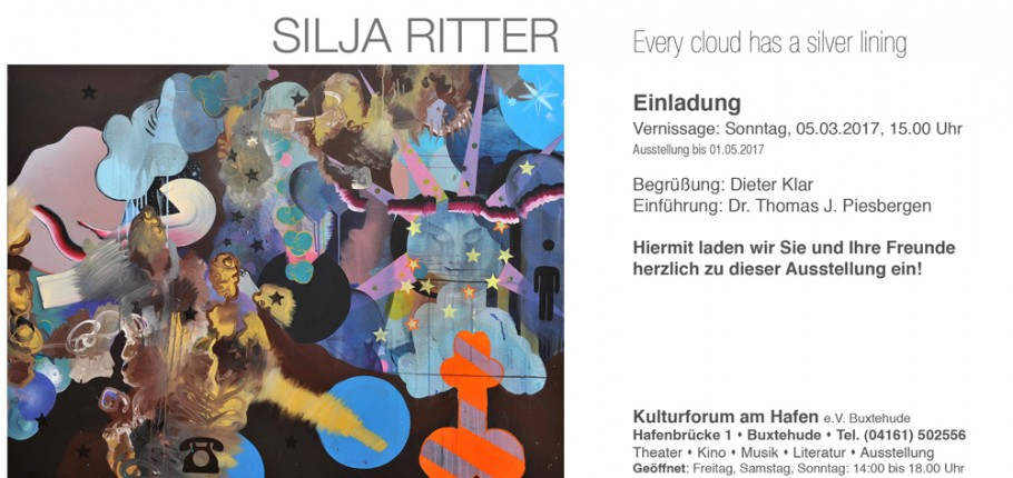 "Vernissage ""EVERY CLOUD HAS A SILVER LINING"" 05.03.2017"